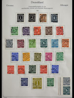 Stamp collection 29359 German Zones 1945-1949.