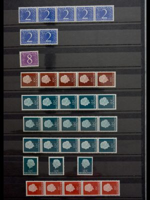 Stamp collection 29364 Netherlands coilstamps 1965-2002.