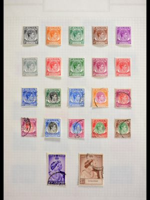 Stamp collection 29409 Singapore 1948-1996.