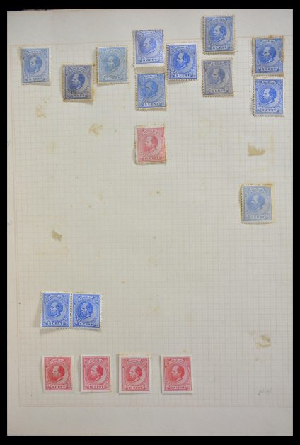 Stamp collection 29411 Netherlands 1869-1923.