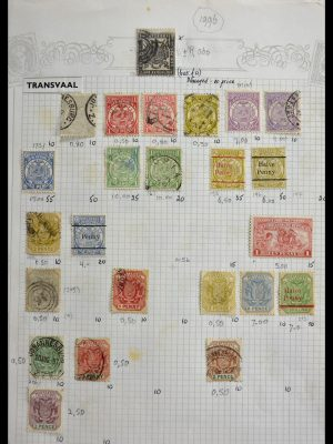 Stamp collection 29420 South Africa and territories 1910-2001.