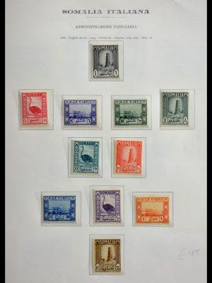 Stamp collection 29430 Italian Somalia 1950-1965.