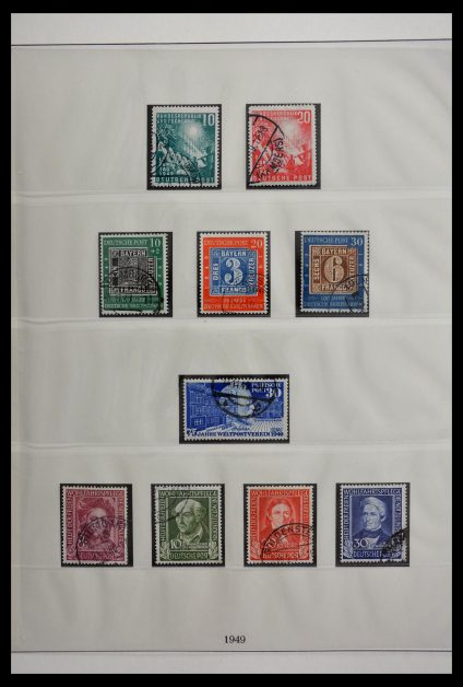 Stamp collection 29441 Bundespost 1949-1971.