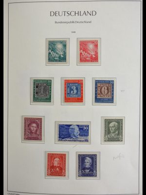 Stamp collection 29452 Bundespost 1949-1974.