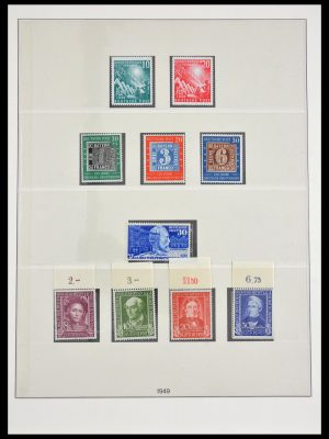 Stamp collection 29490 Bundespost 1949-1973.