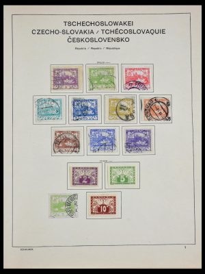 Stamp collection 29504 Czechoslovakia 1918-1970.
