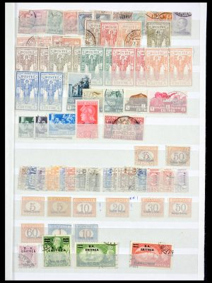 Stamp collection 29507 Italian- and French colonies 1903-1950.