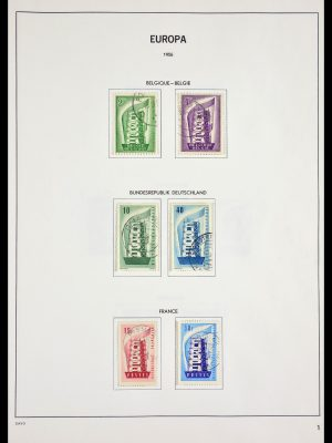 Stamp collection 29515 Europa CEPT 1956-1994.