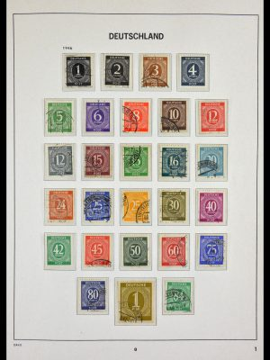 Stamp collection 29524 Bundespost 1946-2000.