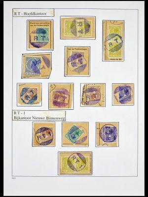 Stamp collection 29531 Netherlands gummi cancels.