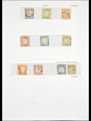 Stamp collection 29532 Germany 1872-1945.