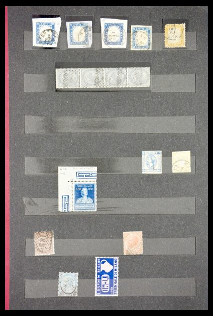 Stamp collection 29556 Italy 1862-1955.