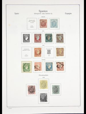 Stamp collection 29559 Spain 1850-1994.