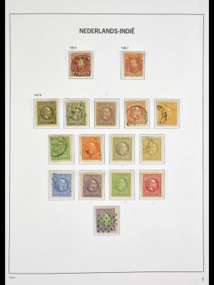 Stamp collection 29561 Dutch east Indies 1864-1948.