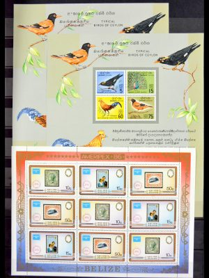 Stamp collection 29584 World souvenir sheets 1980-2011.