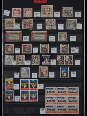 Stamp collection 29587 USA Christmas seals 1907-1978.