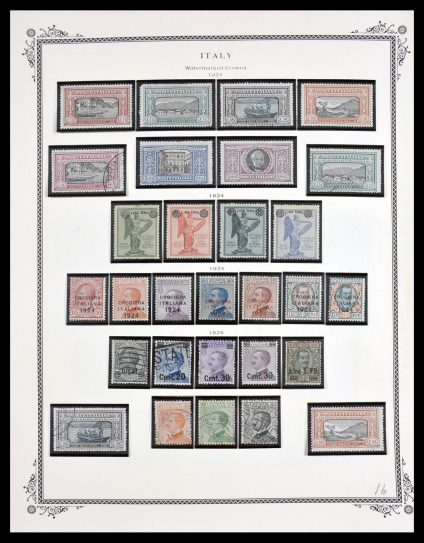 Stamp collection 29594 Italy 1862-2006.