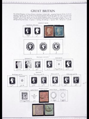 Stamp collection 29596 Great Britain 1841-1998.