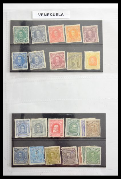 Stamp collection 29598 Venezuela 1879-1996.