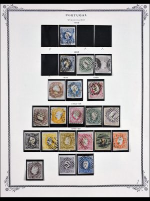 Stamp collection 29600 Portugal 1853-2000.