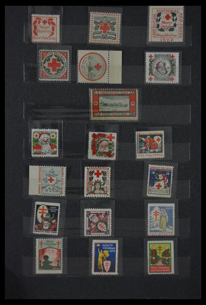 Stamp collection 29603 USA Christmas seals 1907-1977.