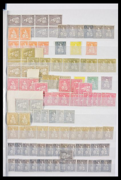 Stamp collection 29604 Switzerland 1882-1960.