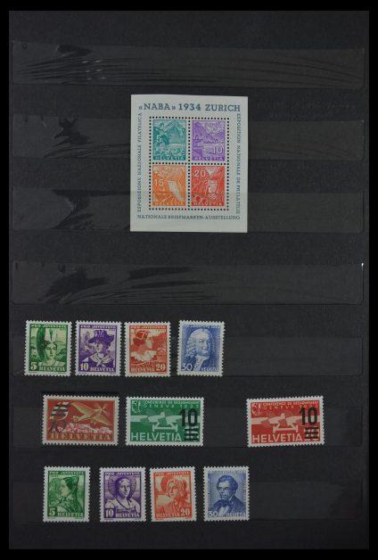 Stamp collection 29613 Switzerland 1882-1960.
