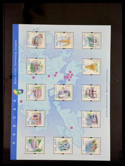 Stamp collection 29630 Hong Kong 1981-2014.