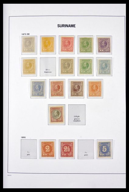 Stamp collection 29632 Surinam 1873-1975.