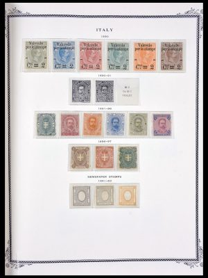 Stamp collection 29644 Italy 1855-1928.