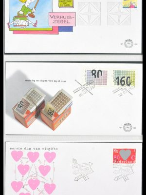 Stamp collection 29666 Netherlands 1997-2011 FDC's.