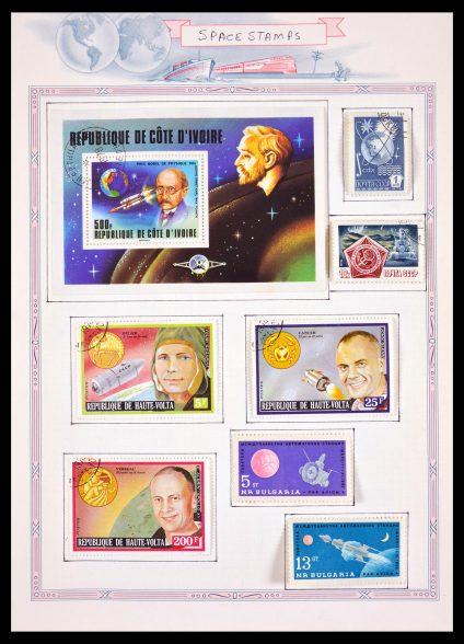 Stamp collection 29687 All world sortinglot 1900-2000.