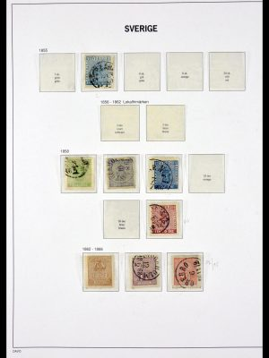 Stamp collection 29691 Sweden 1855-1984.