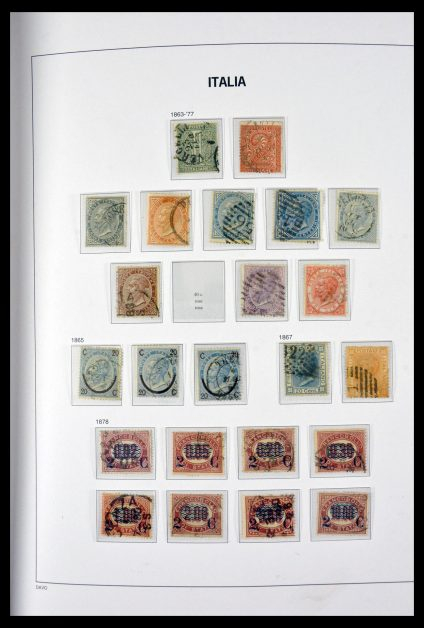 Stamp collection 29698 Italy 1861-2010.