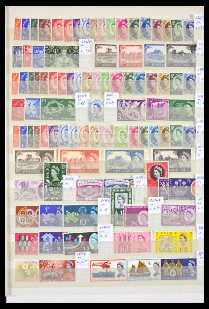 Stamp collection 29703 Great Britain 1952-2007.