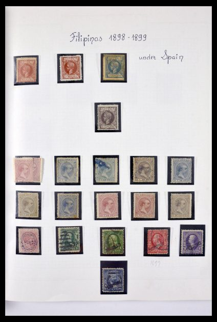 Stamp collection 29710 Philippines 1898-1999.