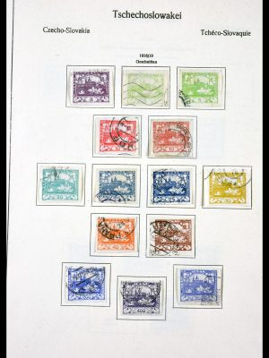 Stamp collection 29716 Czechoslovakia 1918-1974.