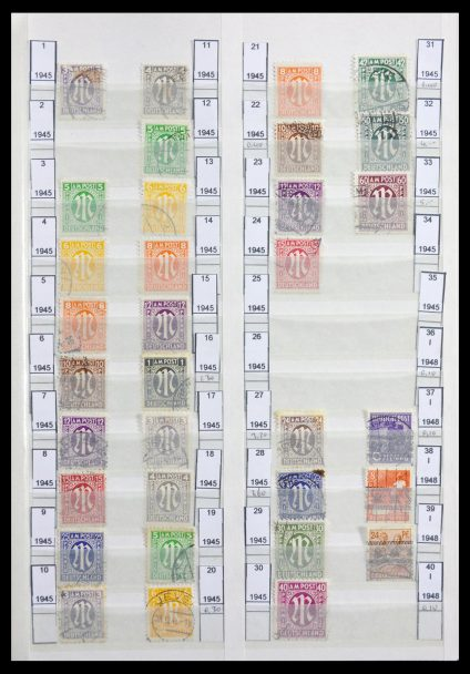 Stamp collection 29741 Bundespost 1949-1999.