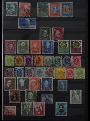 Stamp collection 29742 Bundespost 1949-1999.