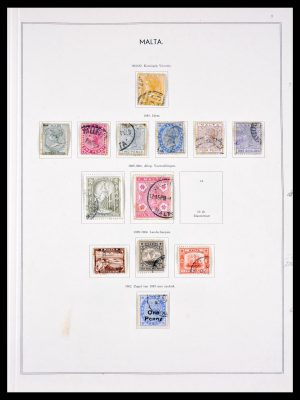 Stamp collection 29753 Malta 1863-1982.