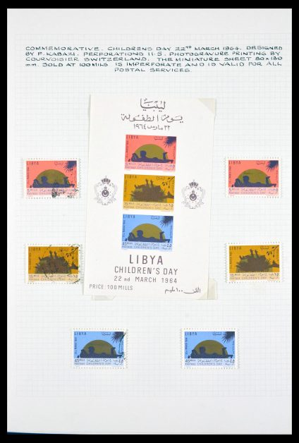 Stamp collection 29785 Lybia 1964-1969.