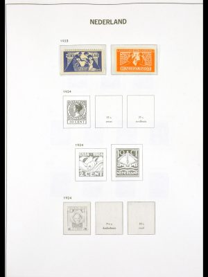 Stamp collection 29795 Netherlands 1852-1979.