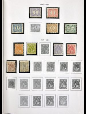Stamp collection 29797 Netherlands 1876-1989.