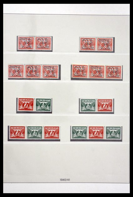 Stamp collection 29813 Netherlands 1945-1970.