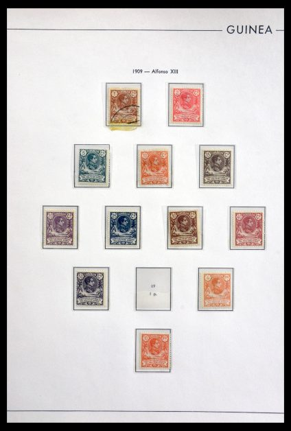 Stamp collection 29815 Spanish territories 1869-1968.