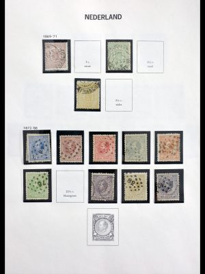 Stamp collection 29817 Netherlandc 1852-1998.