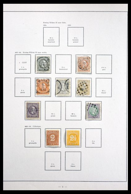 Stamp collection 29822 Dutch territories 1870- ca. 1940.