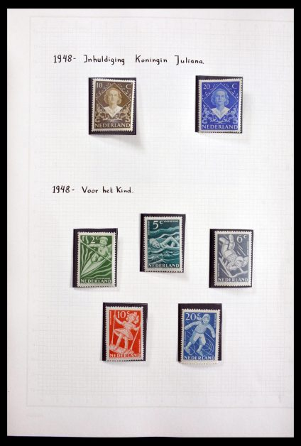 Stamp collection 29828 Netherlands 1948-1967.