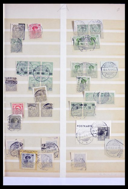 Stamp collection 29846 Luxemburg cancellations 1900-1960.