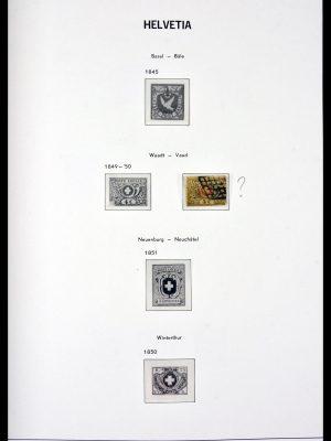 Stamp collection 29848 Switzerland 1849-1969.